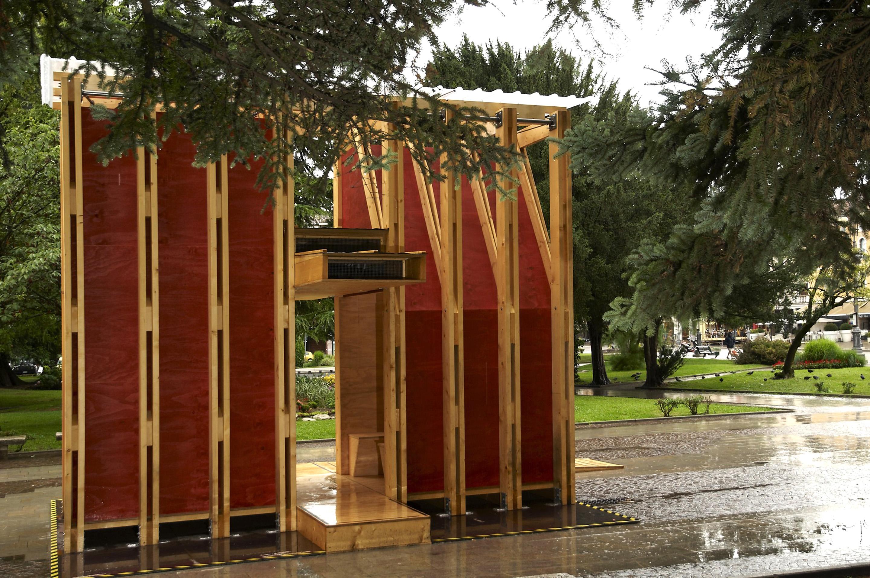 Bienal de Veneza 2012: Pavilhão Dolomiti Architecture , Cortesia de Dolomiti Architetture
