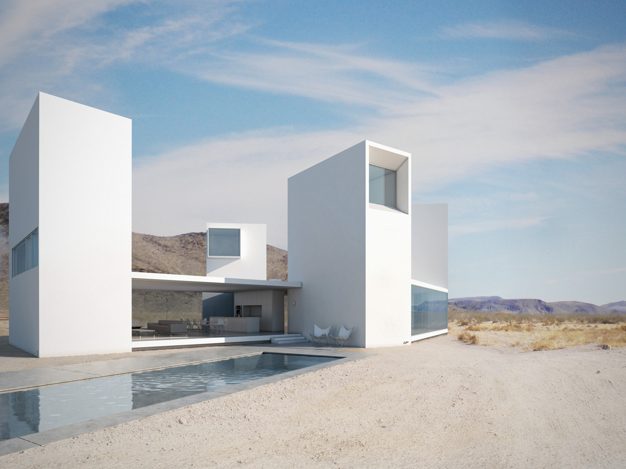 Casa Quatro Olhos / Edward Ogosta Architecture  , © Edward Ogosta Architecture