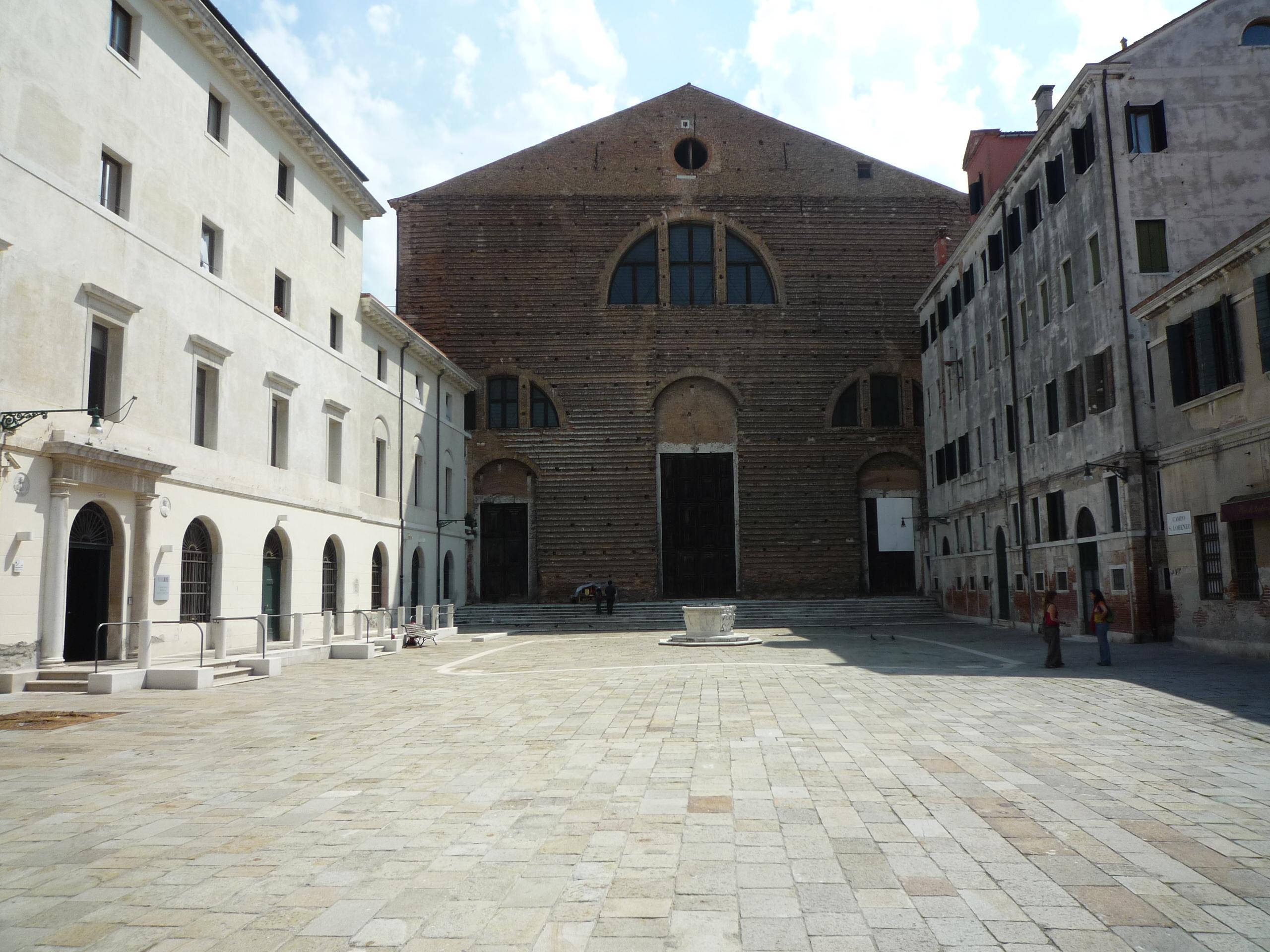 Bienal de Veneza 2012: Pavilhão do México restaura uma Igreja Veneziana, Igreja de San Lorenzo