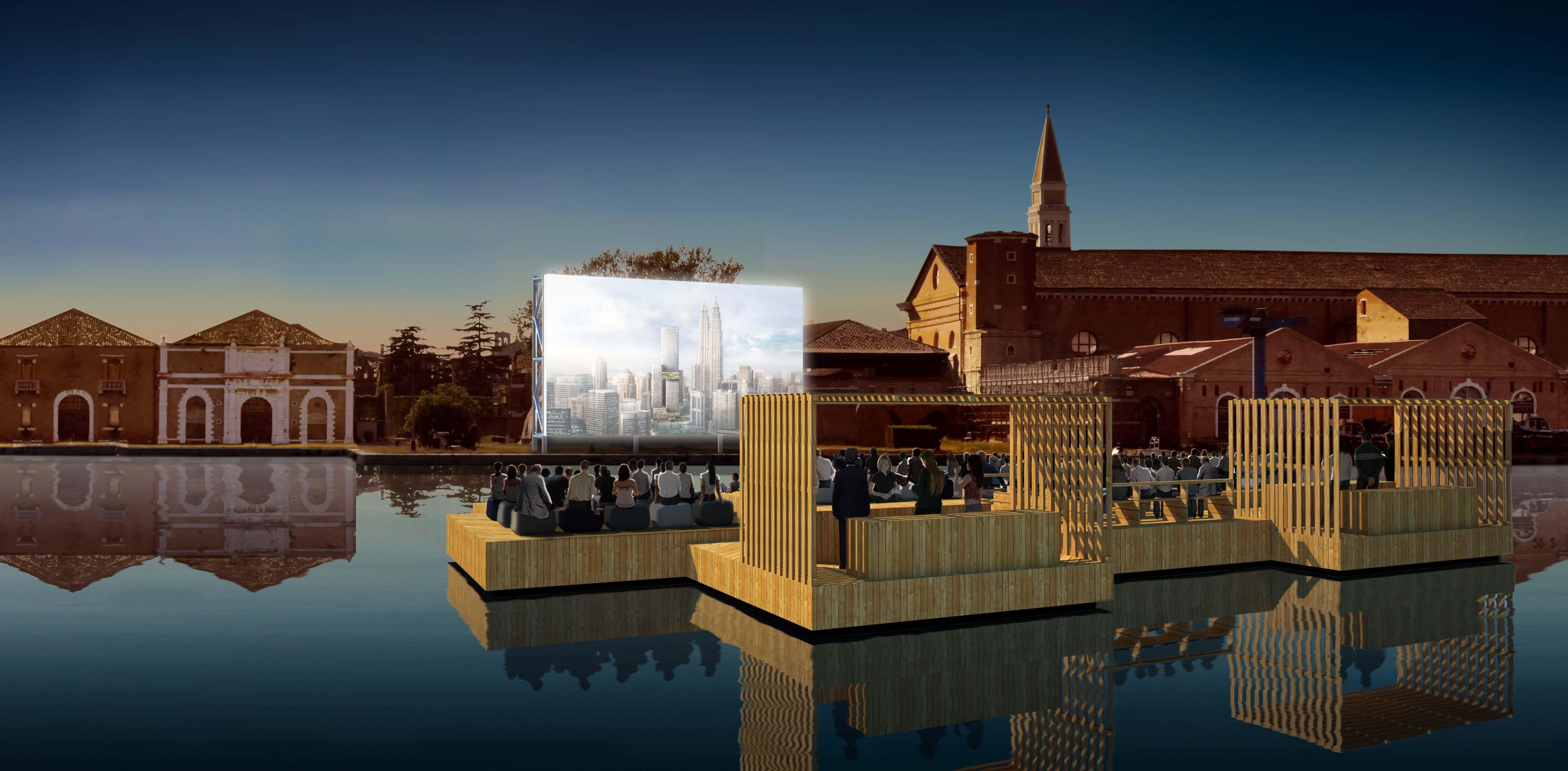 Bienal de Veneza 2012: Cinema Arquipélago  / Ole Scheeren, Cortesia de Ole Scheeren