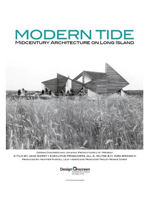 Cinema e Arquitetura: Modern Tide -  Midcentury Architecture on Long Island, Cartaz do filme