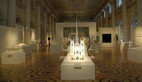 Calatrava doou duas maquetes e onze desenhos ao Museu Hermitage de São Petersburgo / Rússia, via ABC