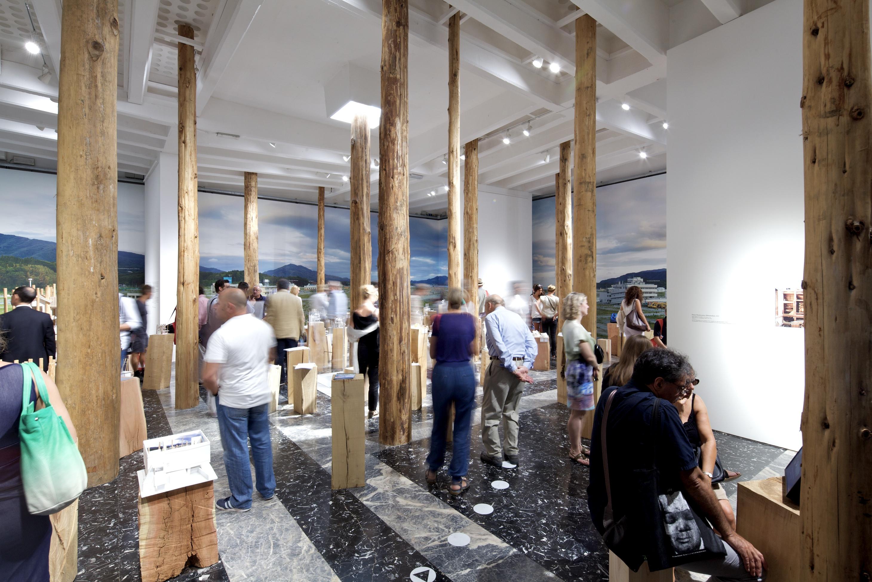 """Bienal de Veneza 2012: """"Architecture. Possible here? Home-for-all"""" - Pavilhão do Japão, © Nico Saieh"""