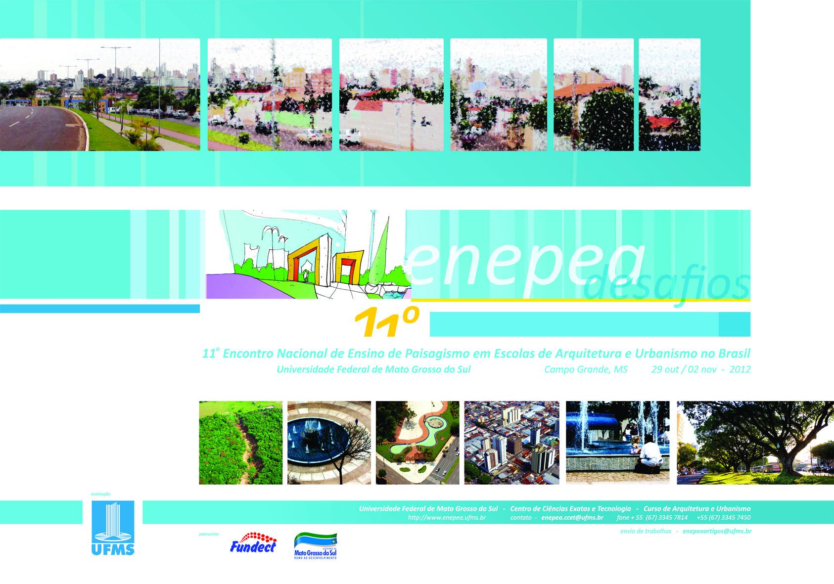 11º ENEPEA / Campo Grande - MS, 11º ENEPEA / Campo Grande - MS