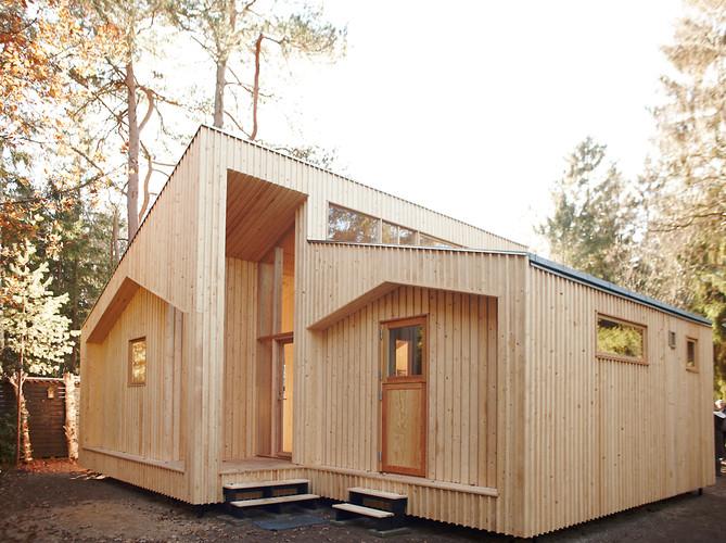 Villa Asserbo: Casa construída com base na impressão 3D de seus componentes, Vía Fast Company