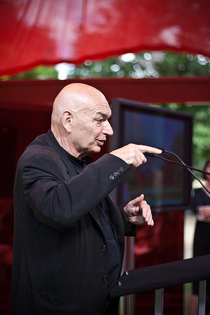 Jean Nouvel foi selecionado para projetar o novo Museu Nacional de Arte da China , Imagem de Flickr Patrick Gage