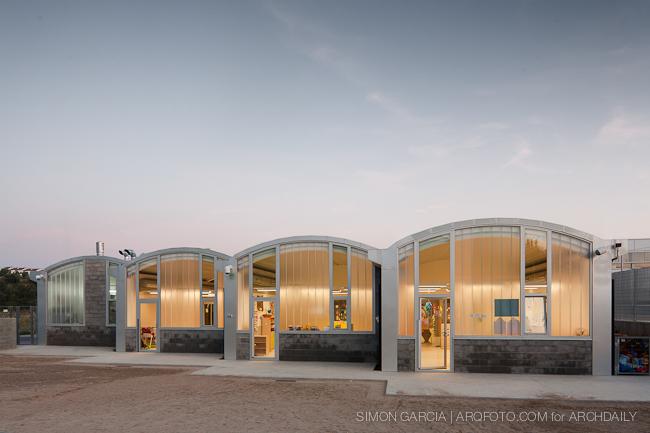 """Berçário """"Les Parellades"""" / Pich‐Aguilera Architects, © Simón García"""