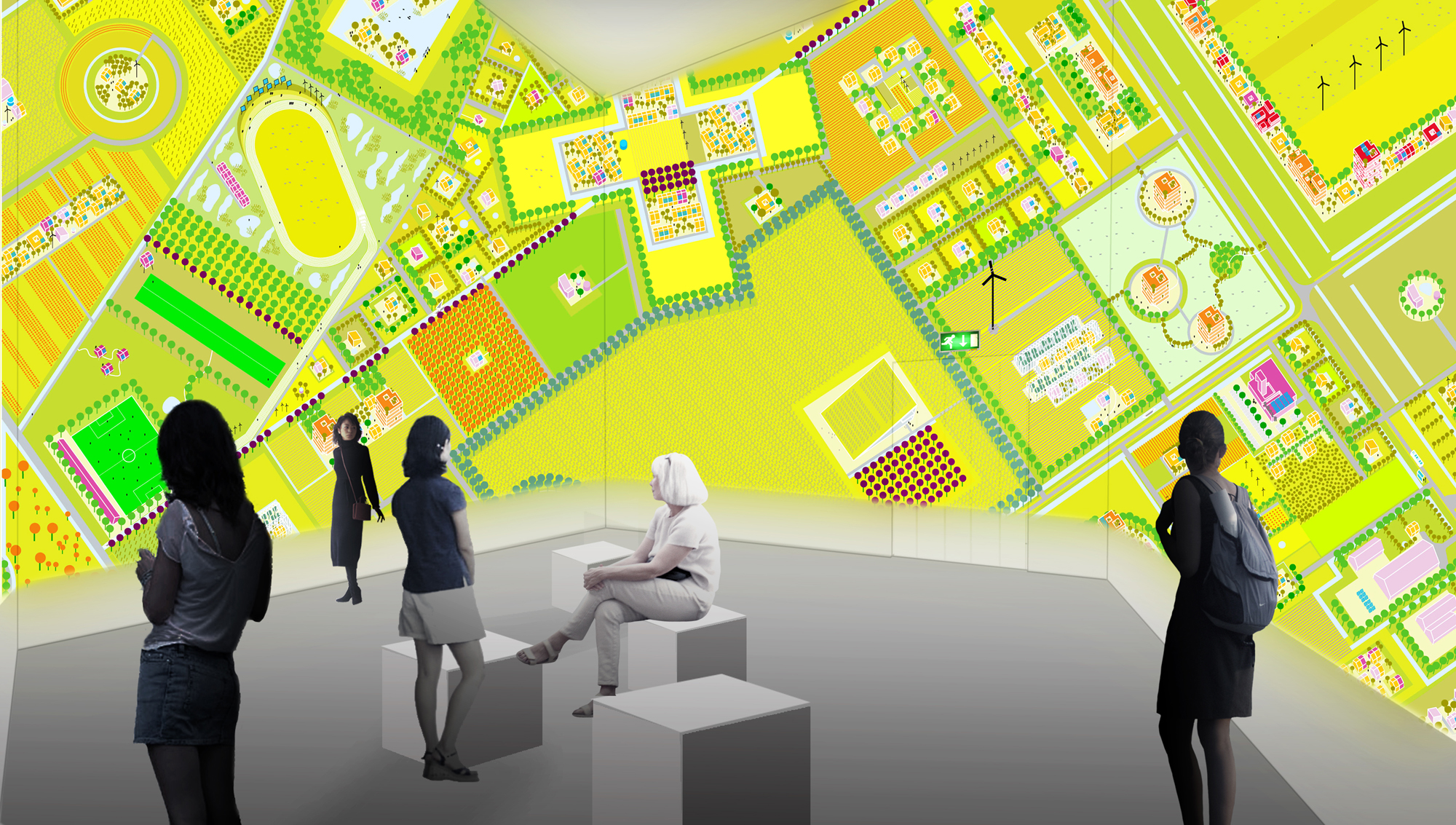 Bienal de Veneza 2012: 'Freeland' e 'Porous City' / MVRDV + the why factory, Freeland / MVRDV e The Why Factory