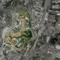 Foto aérea do bairro PRODAC. - Cortesia de Ateliermob
