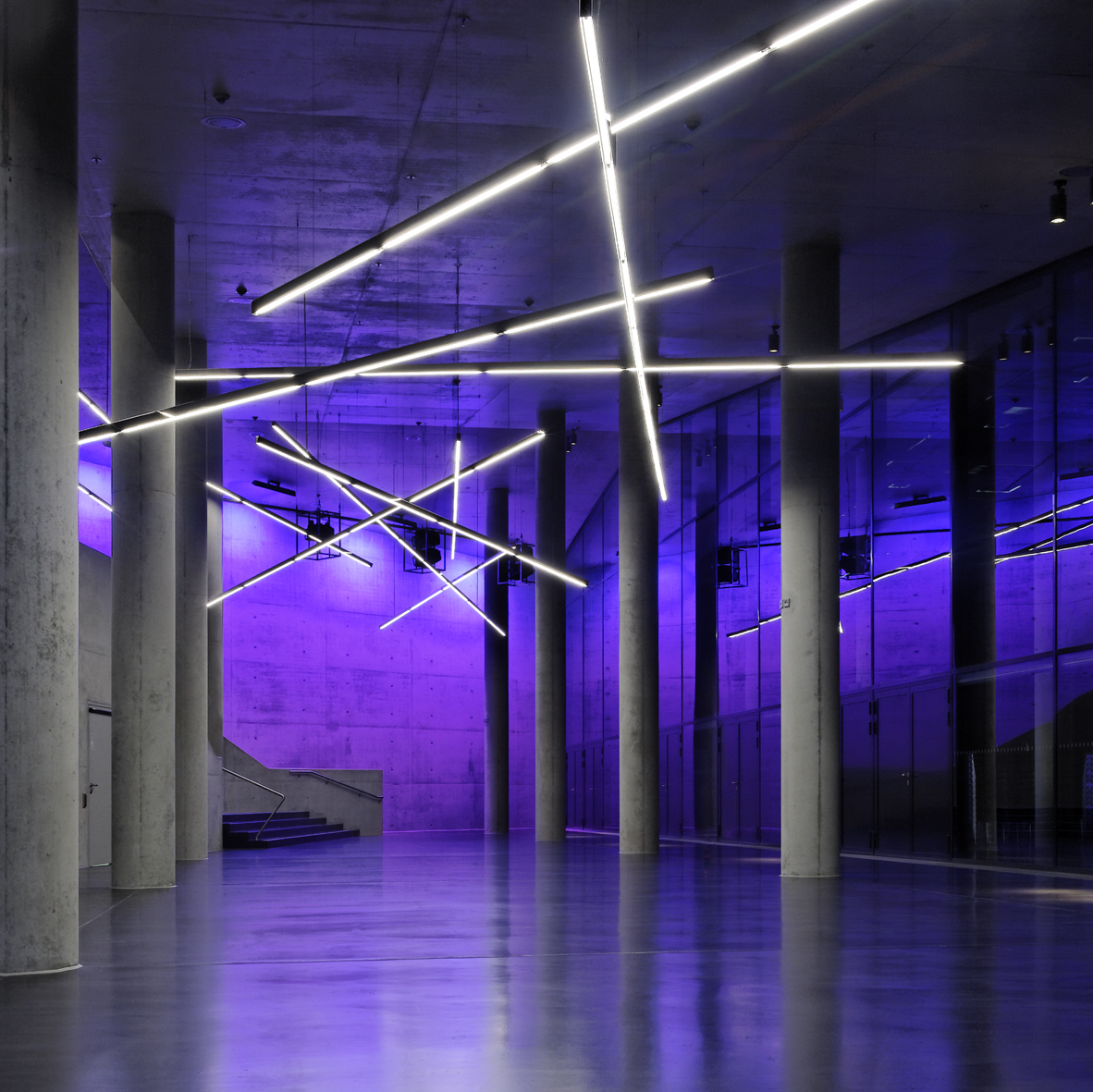 Projeto de Iluminação: Small Olympic Hall / Pfarré Lighting Design, © Andreas J. Focke / architekturfoto.org