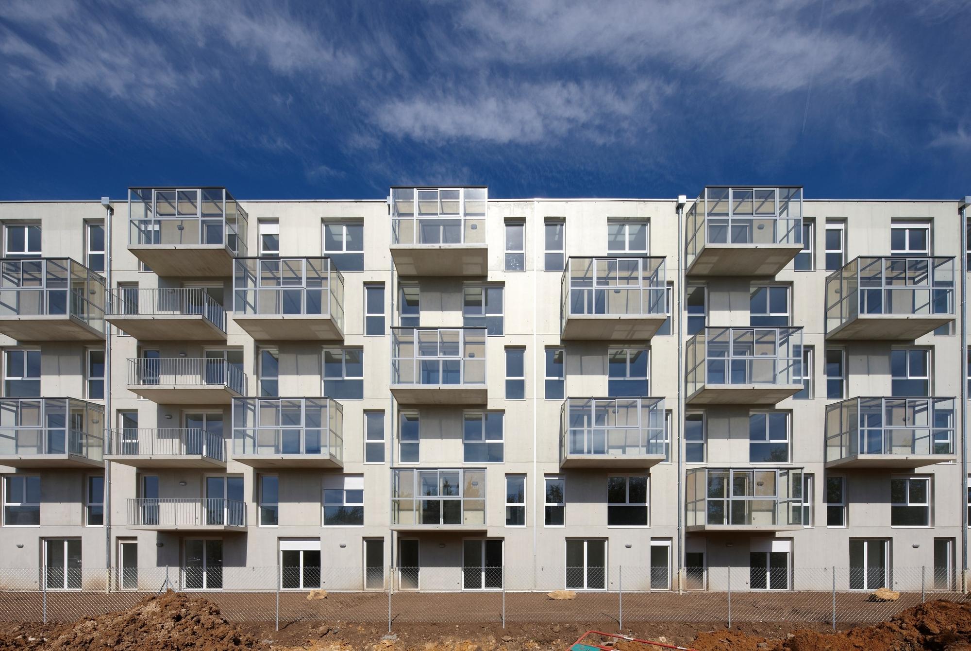 Habitação em Nancy / ANMA, © Stéphane Chalmeau