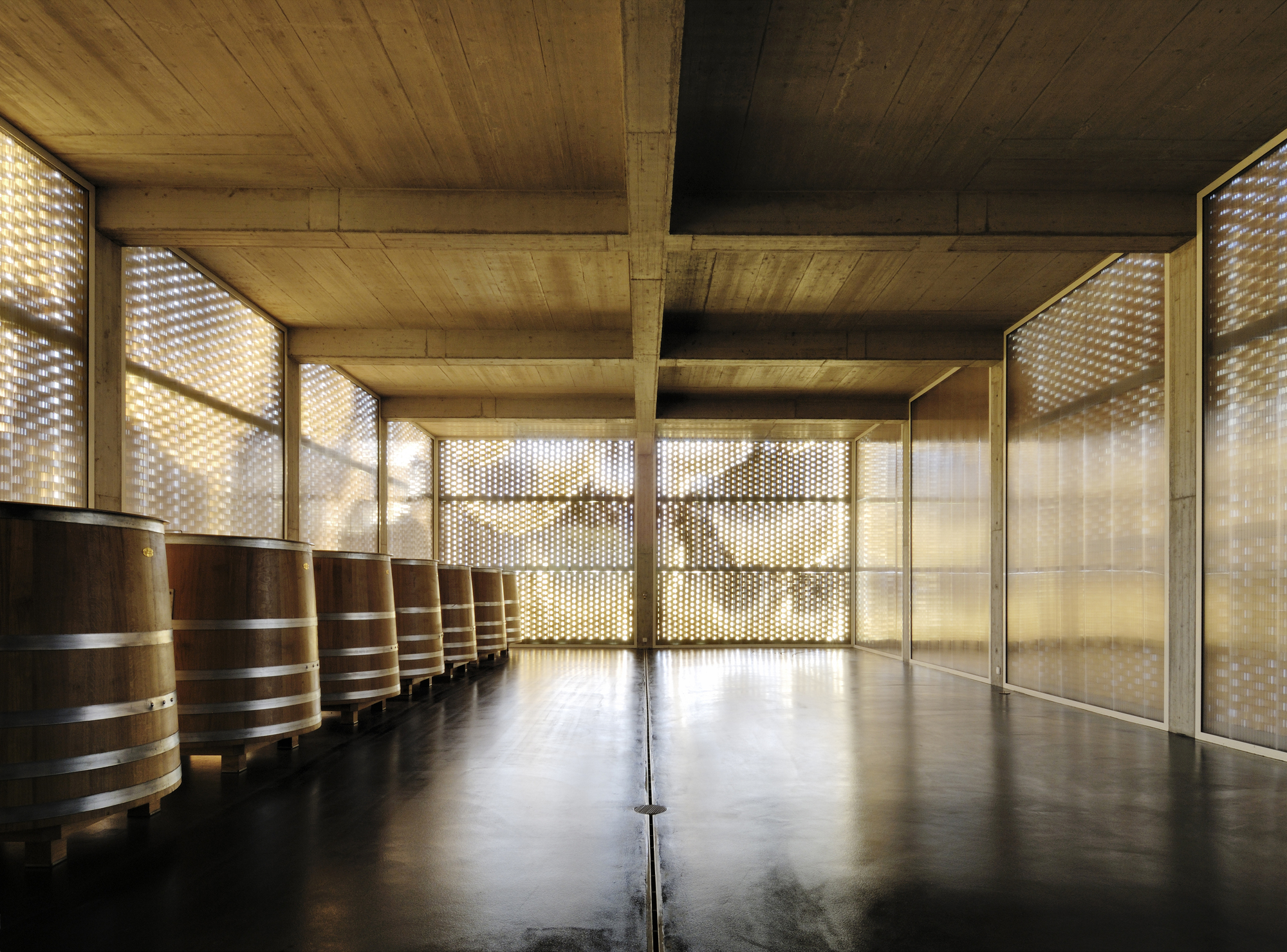 Vinícola Gantenbein / Gramazio & Kohler + Bearth & Deplazes Architekten, © Ralph Feiner