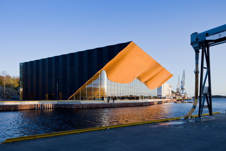 "Bienal de Veneza 2012: Pavilhão finlandês apresenta ""Novas Formas de madeira"", Kilden Performing Arts Centre; Kristiansand, Noruega / ALA Architects © Ivan Baan"