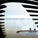 Hernesaari Sauna complex; Helsinki, Finlândia/ Avanto Architects © Avanto Architects