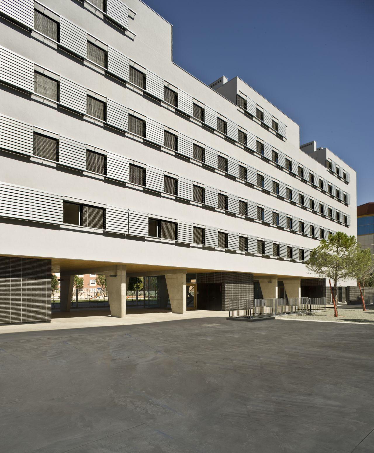 Galeria de conjunto habitacional em albacete burgos garrido arquitectos 1 - Arquitectos albacete ...