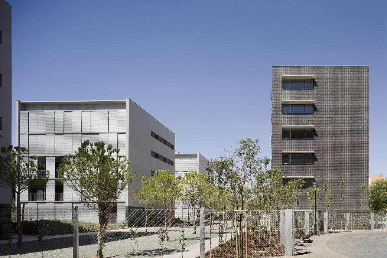 Galeria de conjunto habitacional em albacete burgos garrido arquitectos 5 - Arquitectos albacete ...