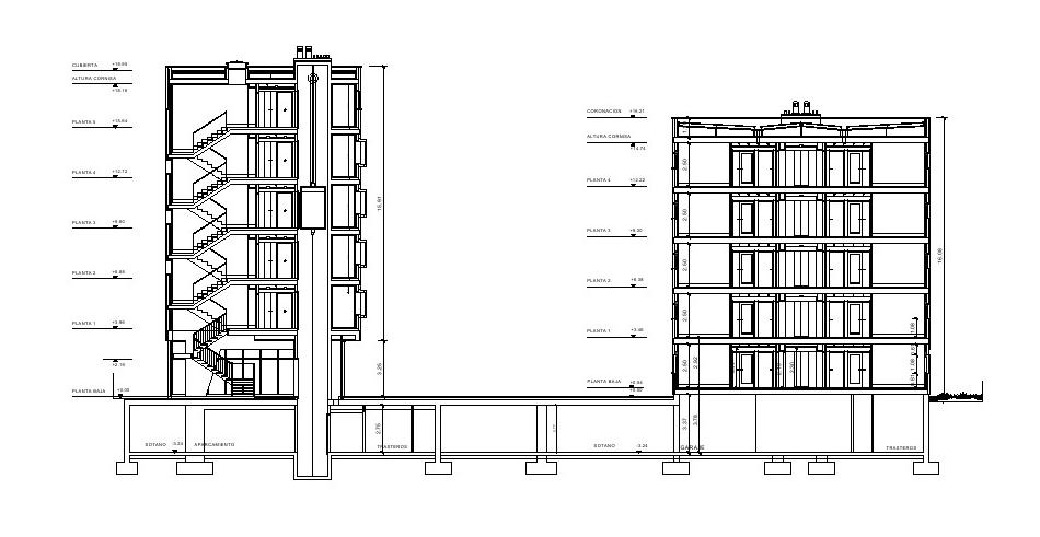 Galeria de conjunto habitacional em albacete burgos garrido arquitectos 17 - Arquitectos albacete ...