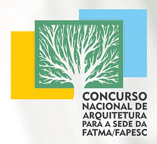 Concurso Nacional de Arquitetura para a Sede da FATMA/FAPESC - Santa Catarina - SC, Cartaz