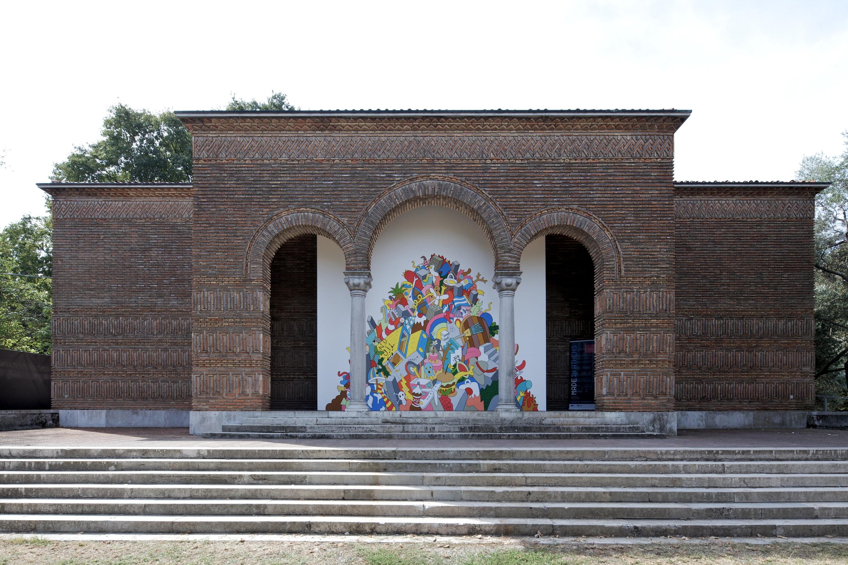 """Bienal de Veneza 2012: """"Feito em Atenas"""" Pavilhão Grego, © Nico Saieh"""