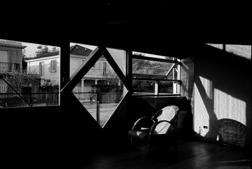 Sobre a observação / Fabio Cruz, Casa en Jean Mermoz, arq. Fabio Cruz. © Arquivo Histórico José Vial Armstrong
