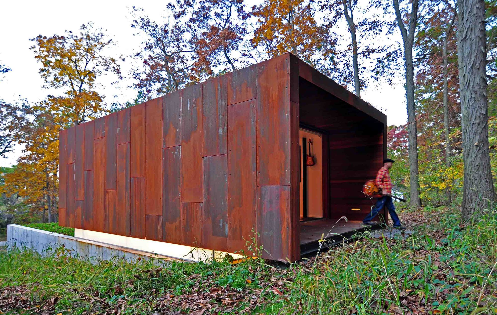 Estúdio para um compositor / Johnsen Schmaling Architects, © John J. Macaulay