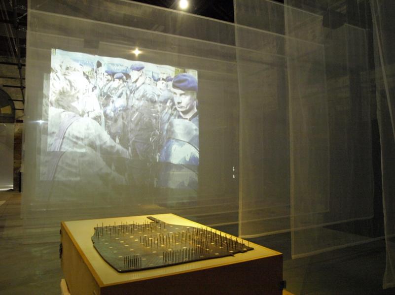 Bienal de Veneza 2012: Pavilhão da Croácia, 'Unmediated Democracy demands Unmediated Space' – Cortesia de Pulska grupa