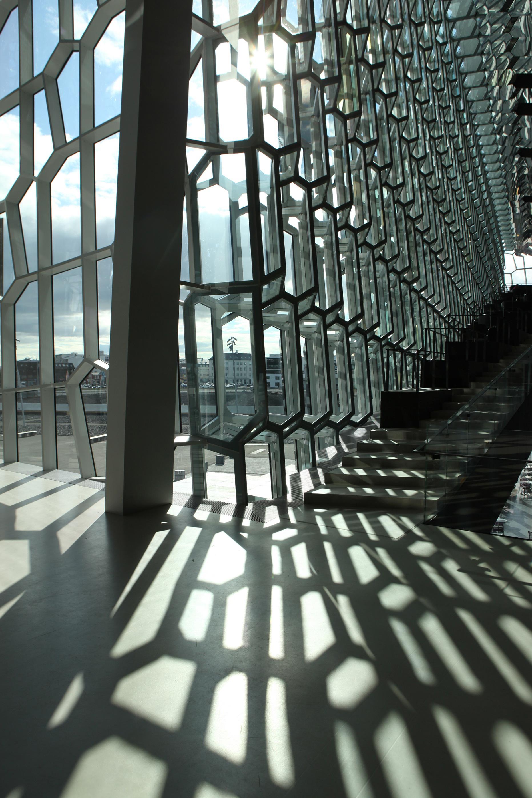 Iluminação da fachada do Harpa Concert Hall / Olafur Eliasson, © Studio Olafur Eliasson