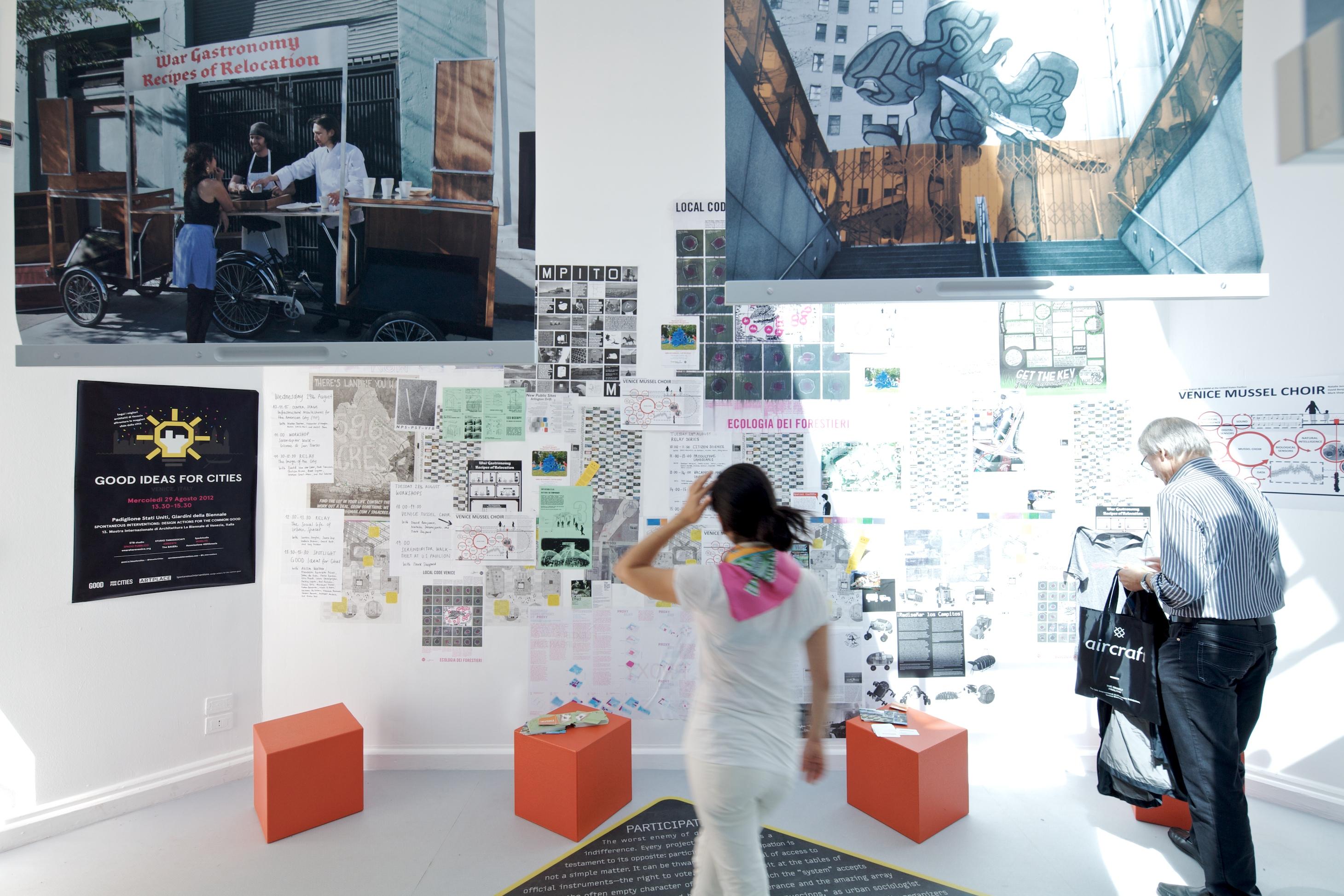 """Bienal de Veneza 2012: """"Intervenções espontâneas"""" -  Pavilhão dos Estados Unidos, © Nico Saieh"""