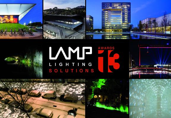 Inscrições Abertas: Lamp Lighting Solutions Awards Competition 2013, Cartaz