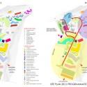 Implantação - Planejamento do Village Health Works /Cortesia de Louise Braverman Architect