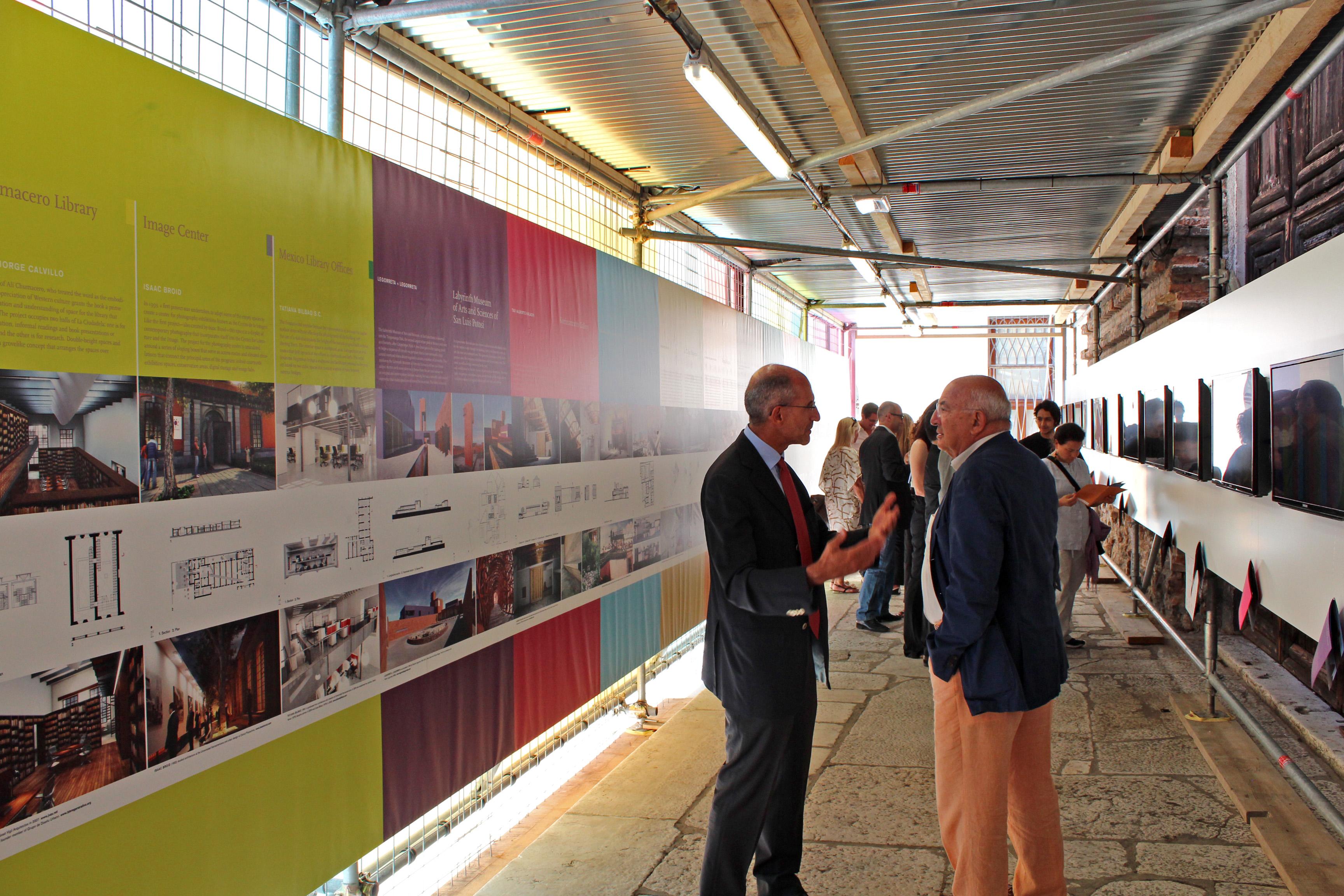 Bienal de Veneza 2012: Pavilhão do México, Inauguração mostra do México © ArchDaily