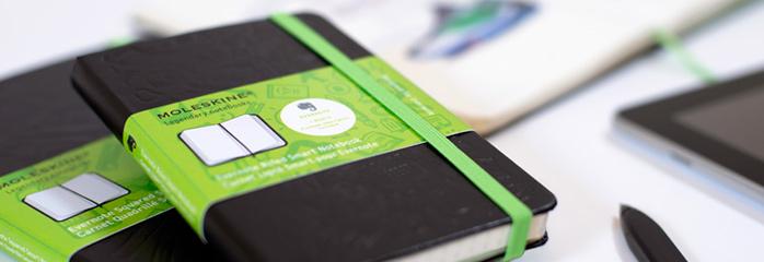 Tecnologia e Arquitetura: Parceria entre Moleskine e Evernote para criar um novo caderno inteligente , Moleskine®