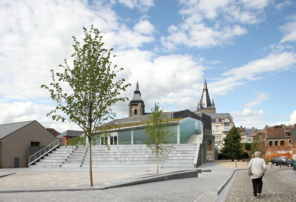 Espaço Cultural Victor Jara / L'Escaut Architectures & Bureau d'études Weinand, © Filip Dujardin