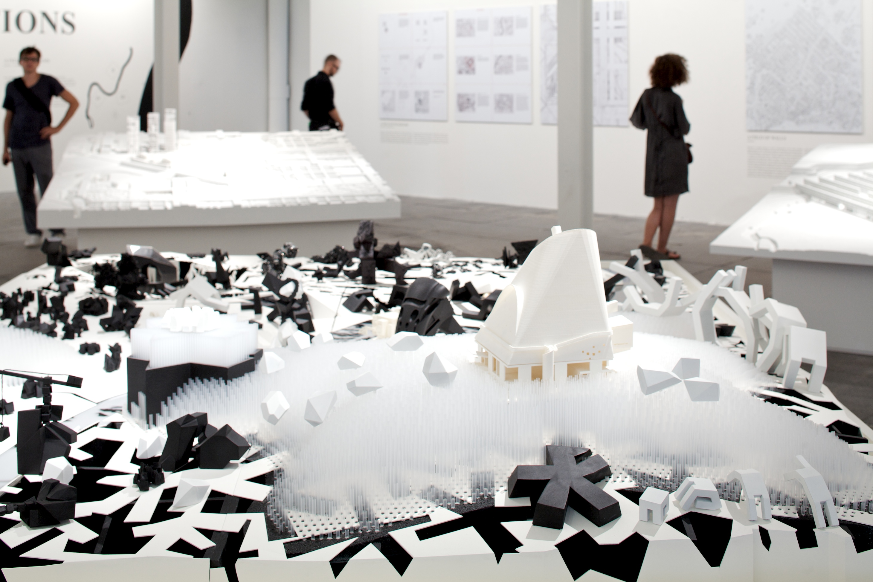 "Bienal de Veneza 2012: ""The Piranesi Variations"" / Peter Eisenman , ""A Field of Dreams"" / Ohio State University Knowlton Faculdade de Arquitetura © Nico Saieh"