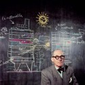 Le Corbusier. Imagens via Le Journal de la Photographie. © Willy Rizzo.
