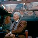 Frank Lloyd Wright por JOHN AMARANTIDES de 1955.