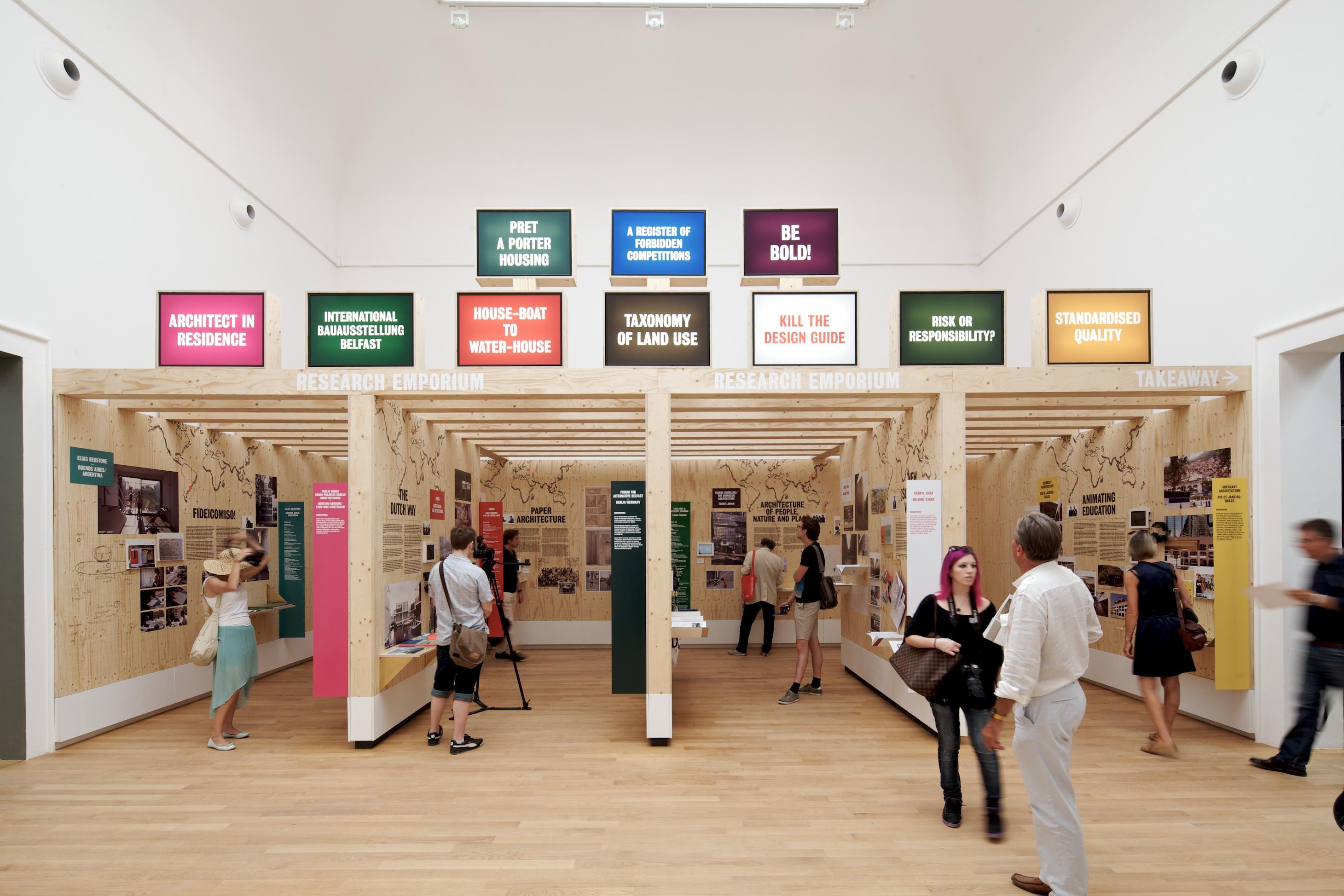"Bienal de Veneza 2012: Veneza ""Takeaway"" / Pavilhão do Reino Unido, © Nico Saieh"