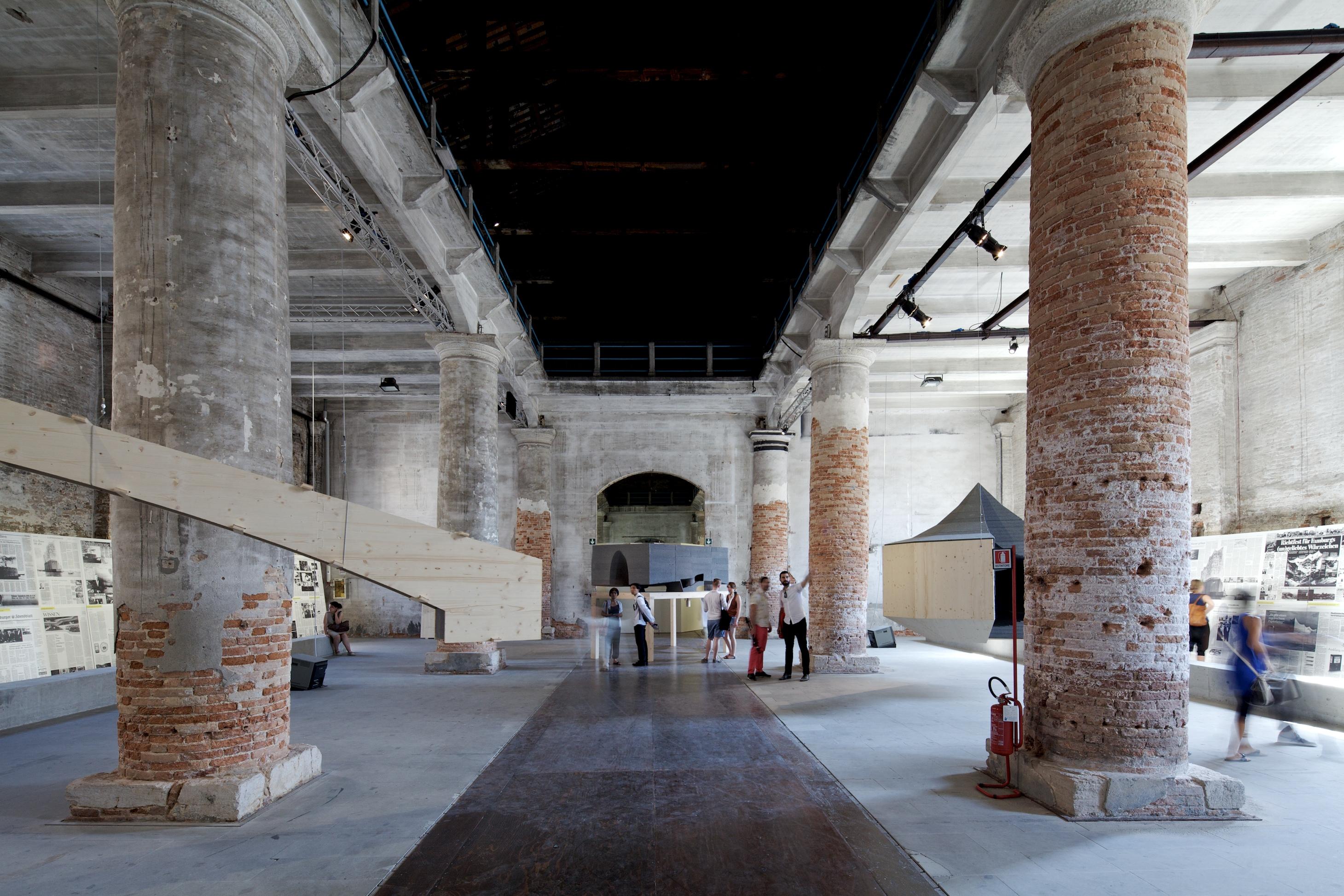 Bienal de Veneza 2012: Elbphilharmonie / Herzog & de Meuron, © Nico Saieh