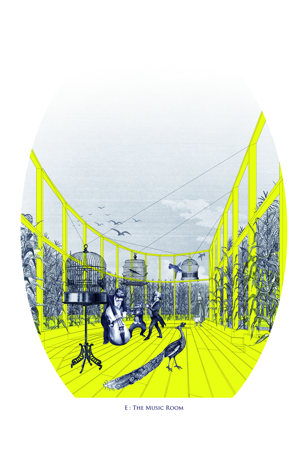 "Proposta vencedora do YAP_Constructo 2012: ""The Garden of Forking Paths"" / Beals & Lyon, Cortesia Beals & Lyon"
