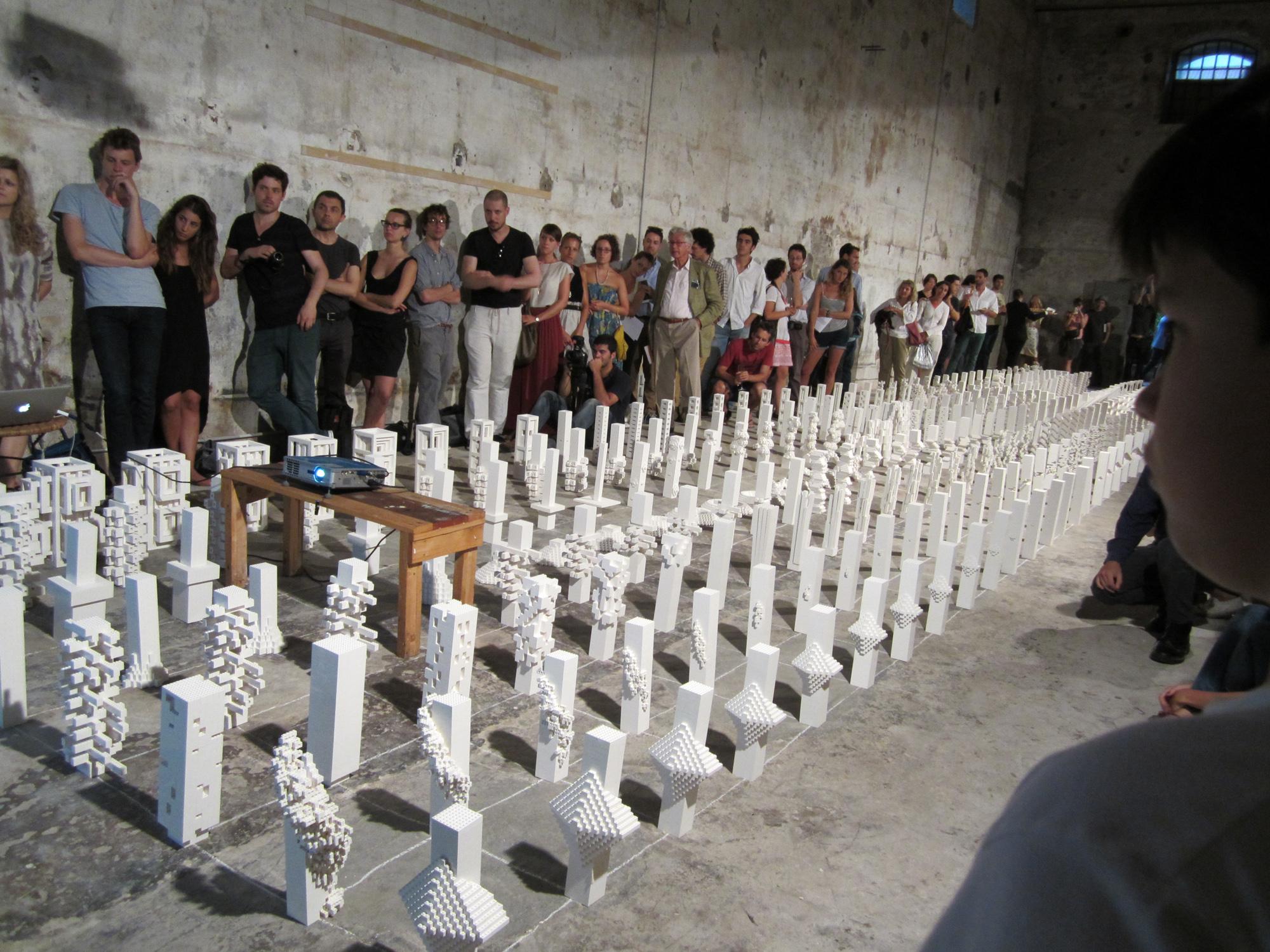 """Bienal de Veneza 2012: Perguntas sem respostas, Apresentação do Manifesto Cidade UE por """"The Why Factory"""""""