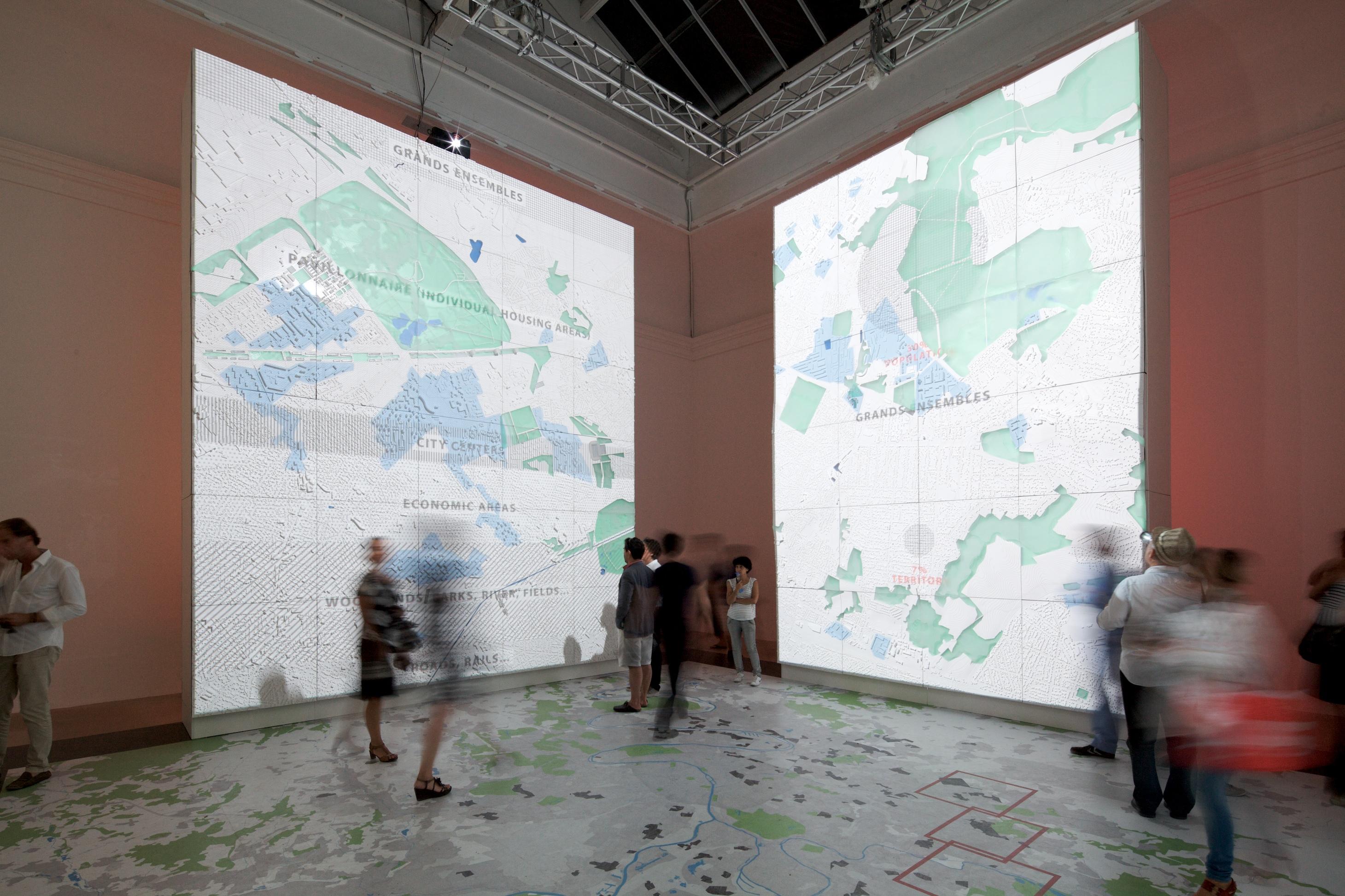 """Bienal de Veneza 2012: """"Grands & Ensembles"""" / Pavilhão da França, © Nico Saieh"""