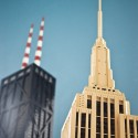 """Architect Adam Reed Tucker's LEGO criações LEGO para exposição no edifício do Museu Nacional """"Towering Ambition."""" © Flickr uploader kimberlyfaye"""