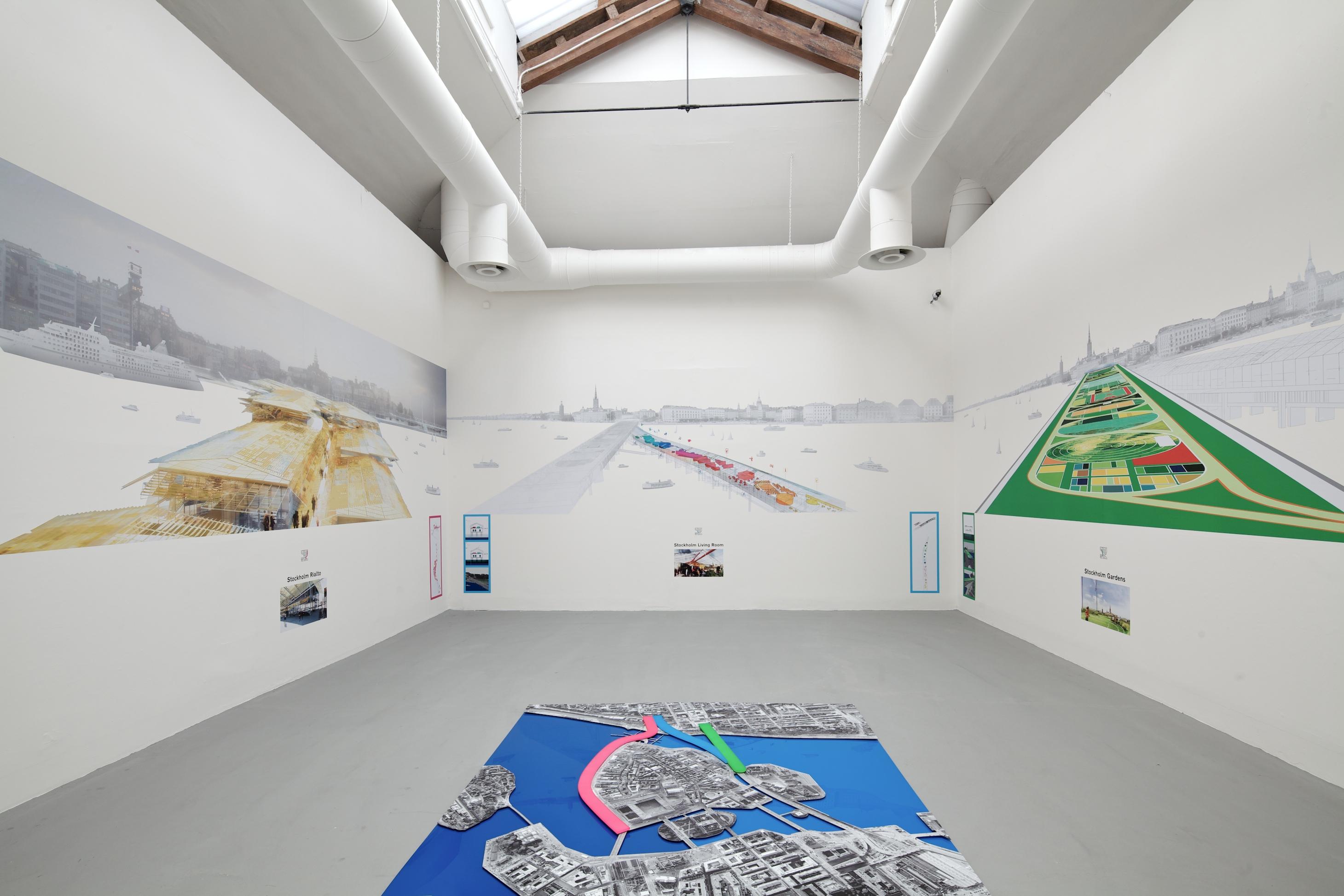Bienal de Veneza 2012: Linhas de reuniões / Ateliers Jean Nouvel + habiter Autrement (Mia Hägg), © Nico Saieh