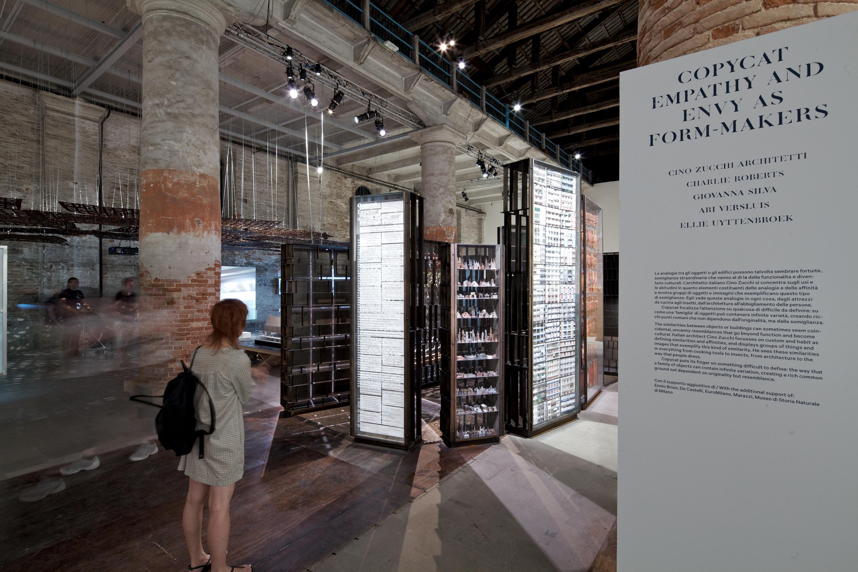 Bienal de Veneza de 2012: Imitação, Empatia e Inveja como Composição da Forma / Cino Zucchi Architetti, © Nico Saieh