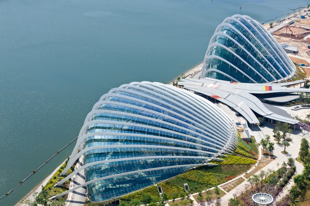 "World Architecture Festival anúncia o ""Edifício Mundial do Ano"" de 2012 / Cooled Conservatories no Gardens by the Bay, Cortesia de Grant Associates"