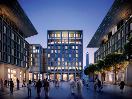 """World Architecture Festival anúncia as premiações de """"Futuro Projeto do Ano"""" e """"Paisagem do Ano"""", Msheireb – Heart of Doha / Praça Principal: Baharat Al Nouq"""