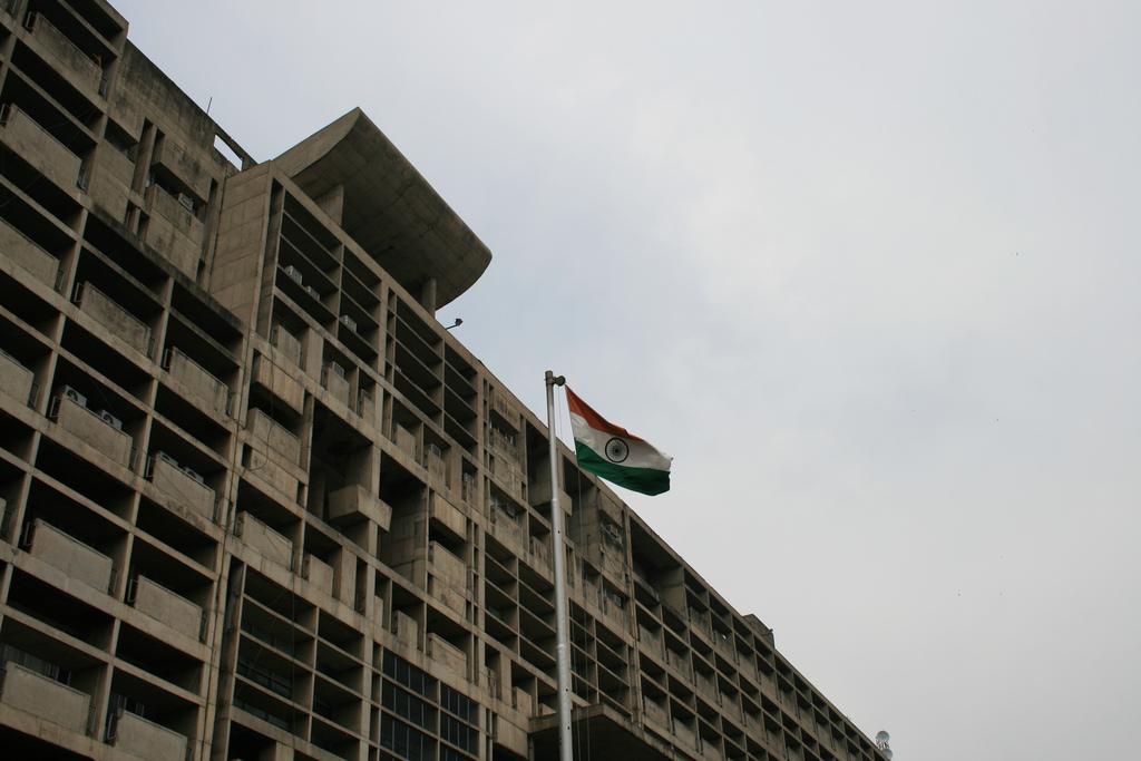 Clássicos da Arquitetura: Secretariado de Chandigarh / Le Corbusier, © flickr robespiero