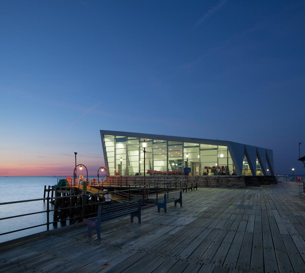 Centro Cultural Southend Pier / White Arkitekter + Sprunt, © Luke Hayes