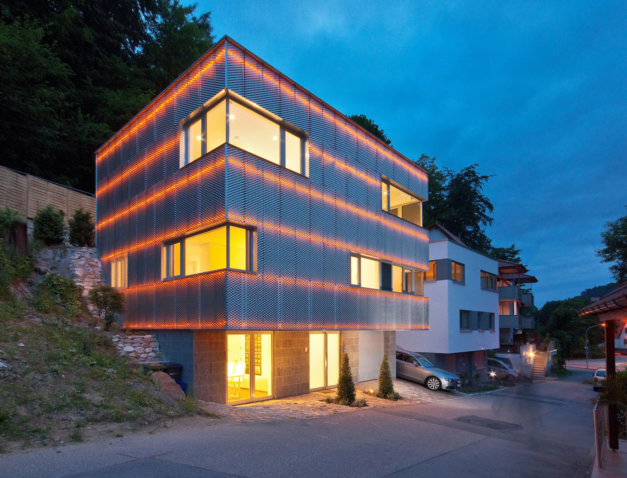 Reflecting Cube / Helwig Haus + Raum Planungs GmbH, © Kristof Lemp