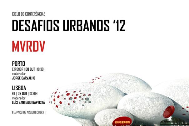 Conferências dos MVRDV em Portugal começam hoje., Cartaz
